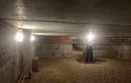 Восстановление системы освещения дома по адресу ул. Снежная, 14