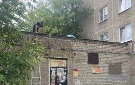 Промывка ливневой канализации дома по адресу ул. Солдатова, 36
